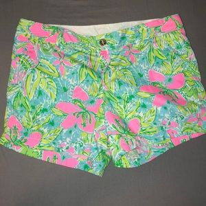 Lilly Pulitzer shorts size 14